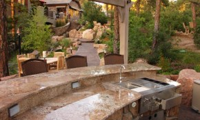 Backyard Outdoor Kitchen Designs Cileather Home Design Ideas for 13 Awesome Designs of How to Makeover Backyard Kitchen Design Ideas