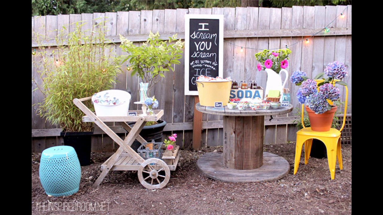 Backyard Party Decorating Ideas Youtube with regard to 14 Some of the Coolest Ways How to Makeover Backyard Party Decoration Ideas