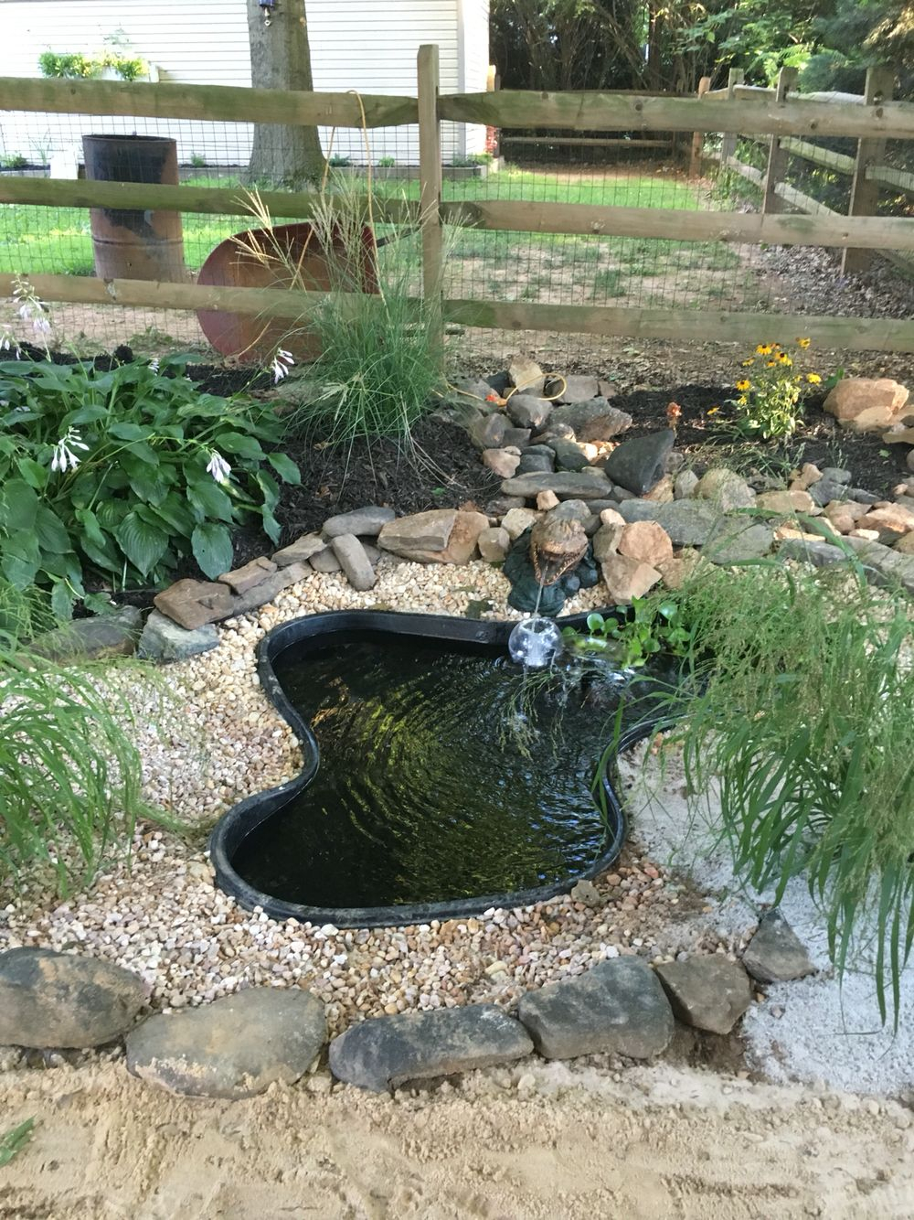 Backyard Pond Garden Ponds Backyard Backyard Ducks Duck Coop in 13 Some of the Coolest Initiatives of How to Upgrade Backyard Duck Pond Ideas