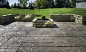 Backyard Stamped Concrete Patio Ideas Luxury Concrete Backyard pertaining to 15 Smart Concepts of How to Upgrade Concrete Patio Ideas Backyard