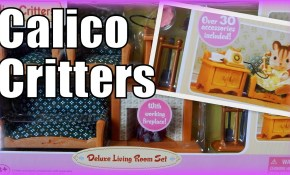 Calico Critters Deluxe Living Room Set Youtube pertaining to 13 Some of the Coolest Initiatives of How to Build Calico Critters Deluxe Living Room Set