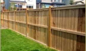 Cost Of Fencing Backyard 28 Images 10 Garden Fence within Cost To Fence A Backyard
