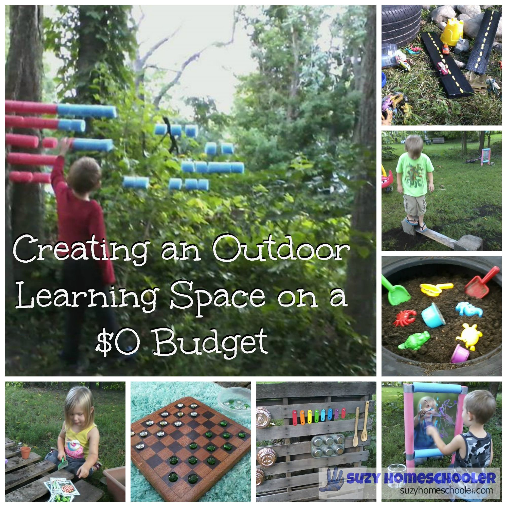 Creating An Outdoor Learning Space For Free Or Frugal Outdoor pertaining to Backyard Play Ideas