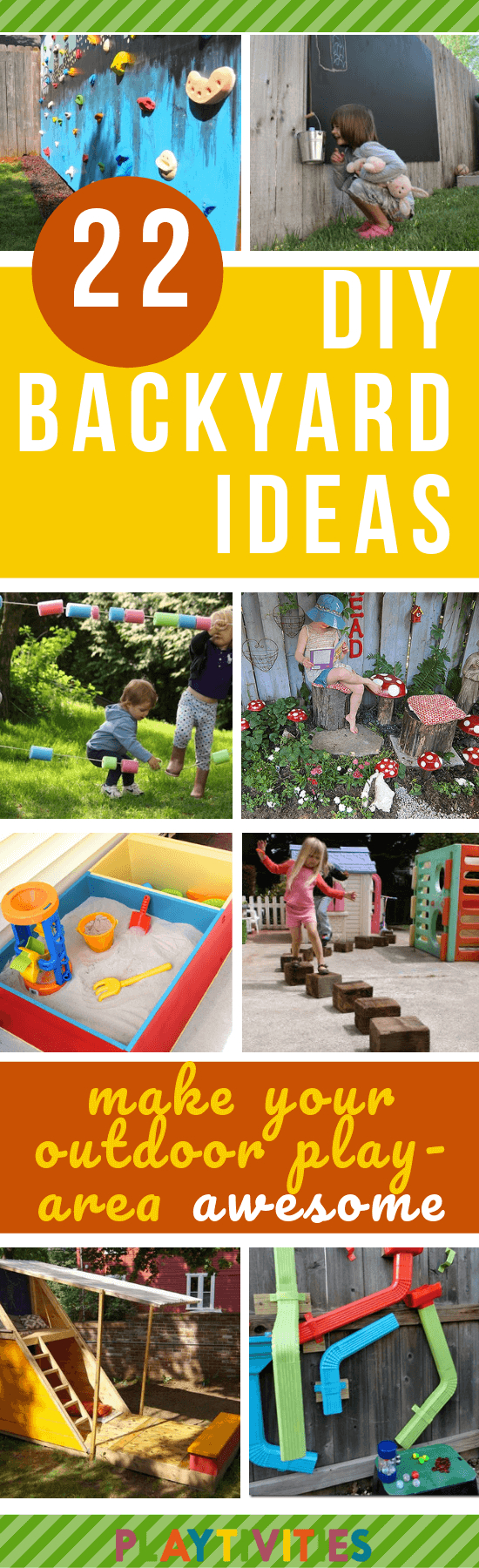Diy Backyard Ideas For Kids 22 Easy And Cheap Ideas Playtivities within 13 Clever Ideas How to Make Backyard Play Ideas