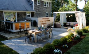 Easy Landscaping Ideas Low Maintenance Landscape Design Tips pertaining to Cheap Landscaping Ideas For Backyard