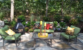 Easy Landscaping Ideas Low Maintenance Landscape Design Tips pertaining to Pics Of Landscaped Backyards