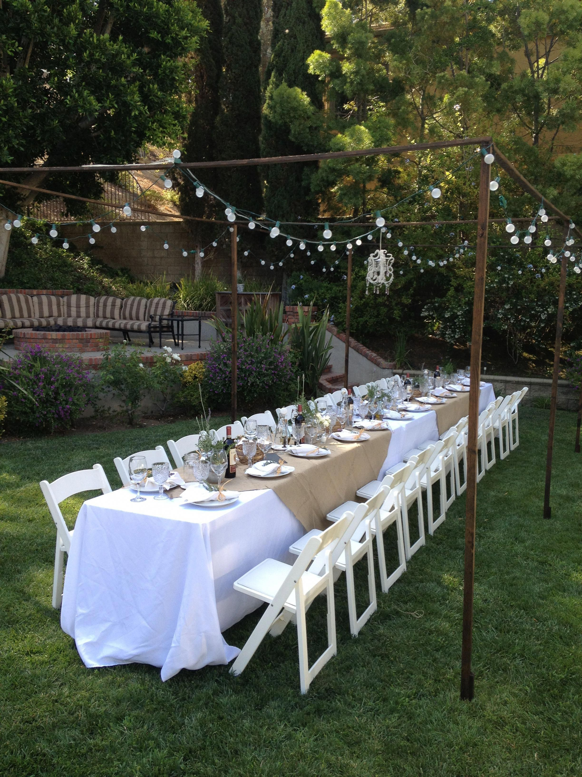 Enthusiastic Counseled Inspirations For Wedding Results Guaranteed throughout Backyard Party Decorations