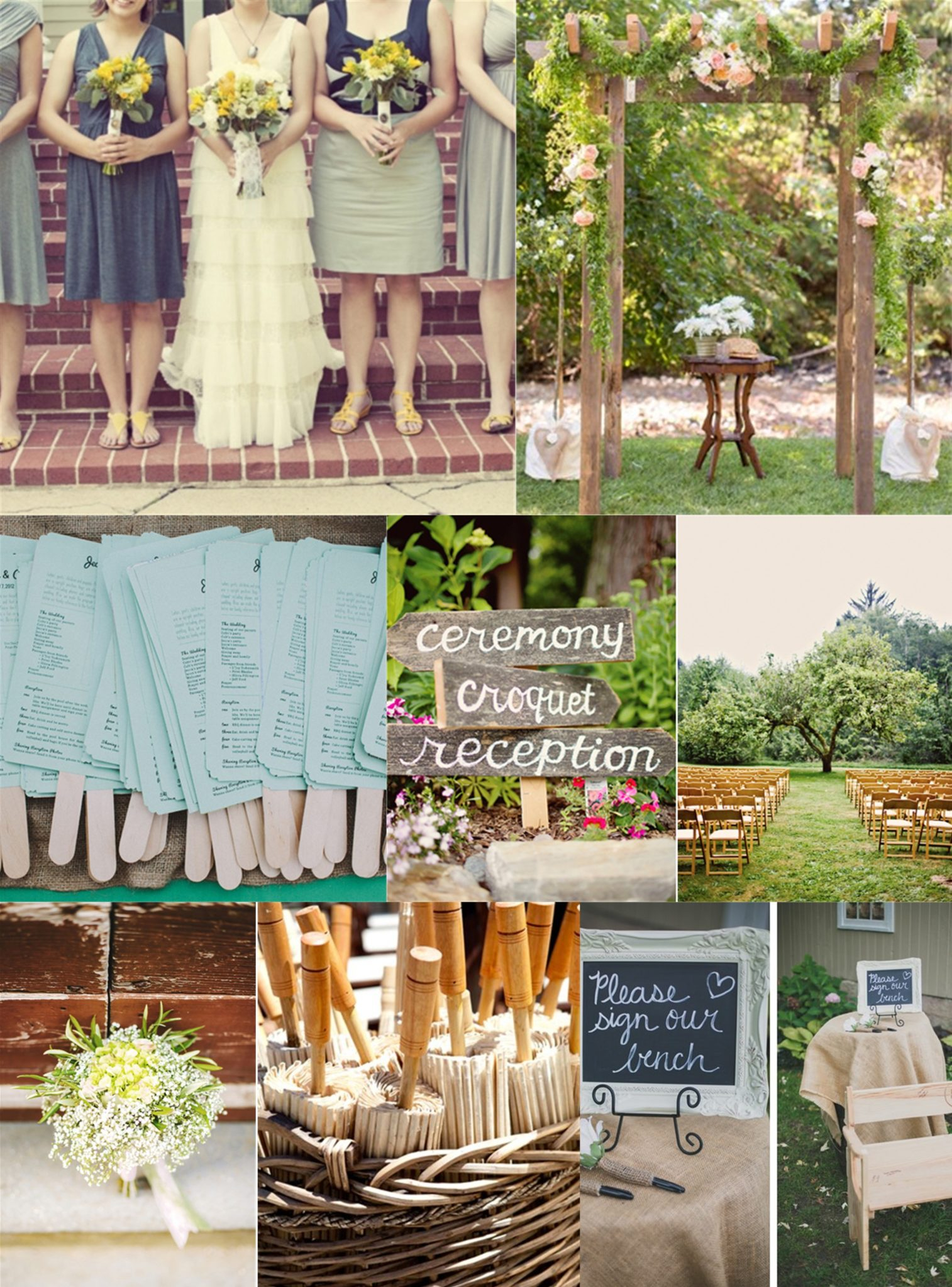 Essential Guide To A Backyard Wedding On A Budget intended for Cheap Backyard Wedding Ideas