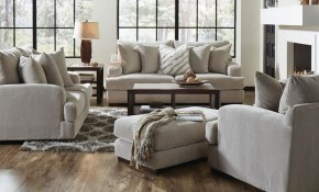 Gabrielle Cream Living Room Jackson Furniture 334603 Conns throughout Cream Living Room Set