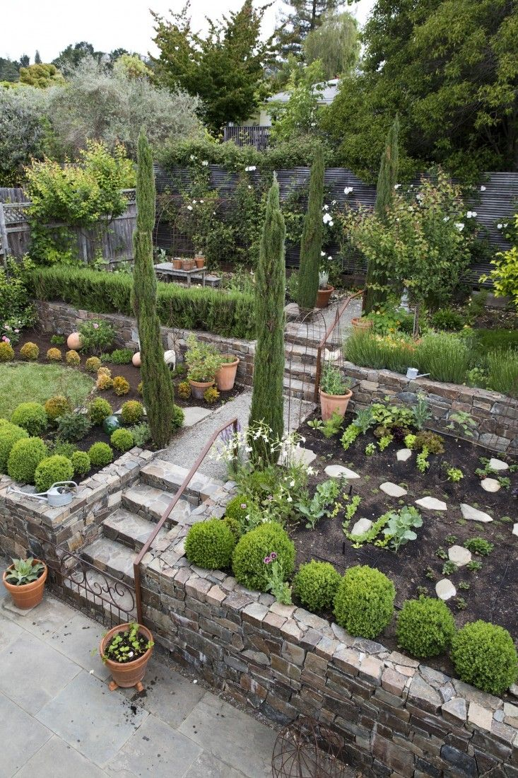 Garden Visit A Modern Ca Garden Inspired The Classics Gardens regarding 15 Smart Tricks of How to Upgrade Terraced Backyard Landscaping Ideas