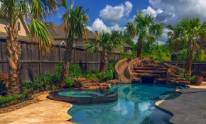 Houston Pool And Yard Landscaping Ideas Outdoor Perfection with Backyard Pool Landscaping Ideas