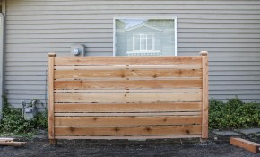 How To Build A Diy Horizontal Fence throughout How To Build A Backyard Fence