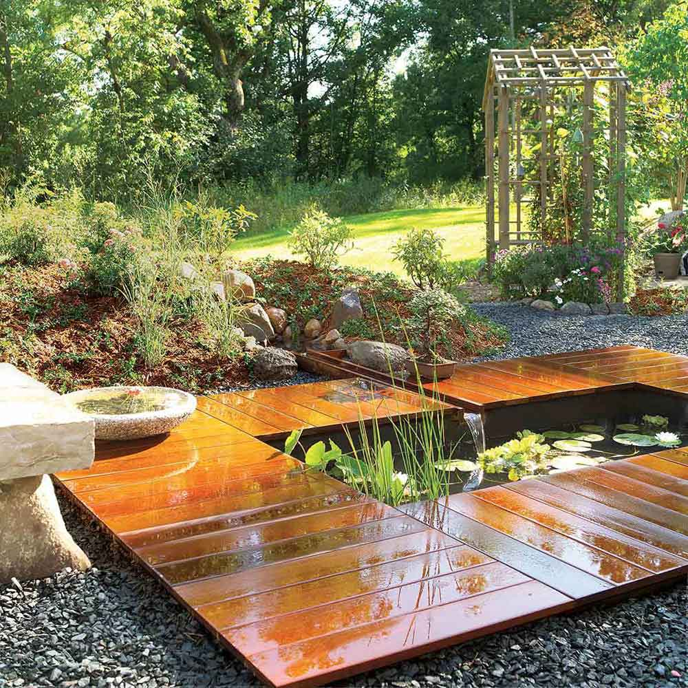 How To Build A Pond Easily Cheaply And Beautifully The Garden Glove within Diy Backyard Pond Ideas