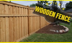 How To Build A Wood Fence Do It Yourself Youtube within 16 Awesome Tricks of How to Makeover How To Build A Backyard Fence