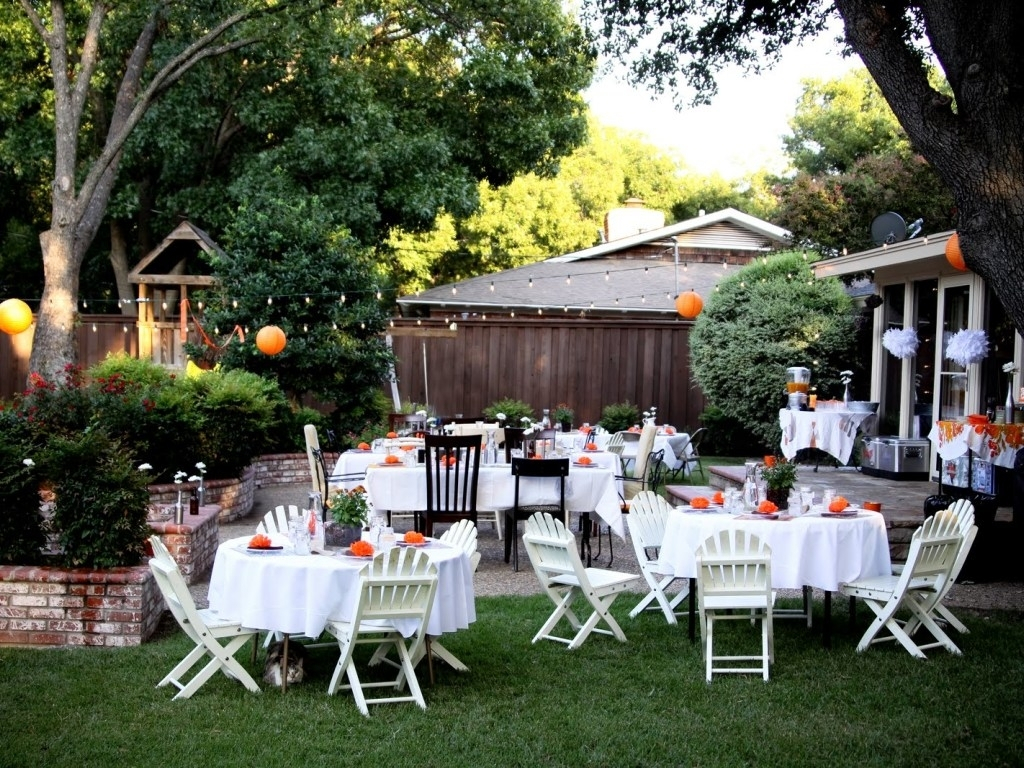 Ideas 10 Stunning Backyard Wedding Decorations Backyard Regarding within Backyard Wedding Idea