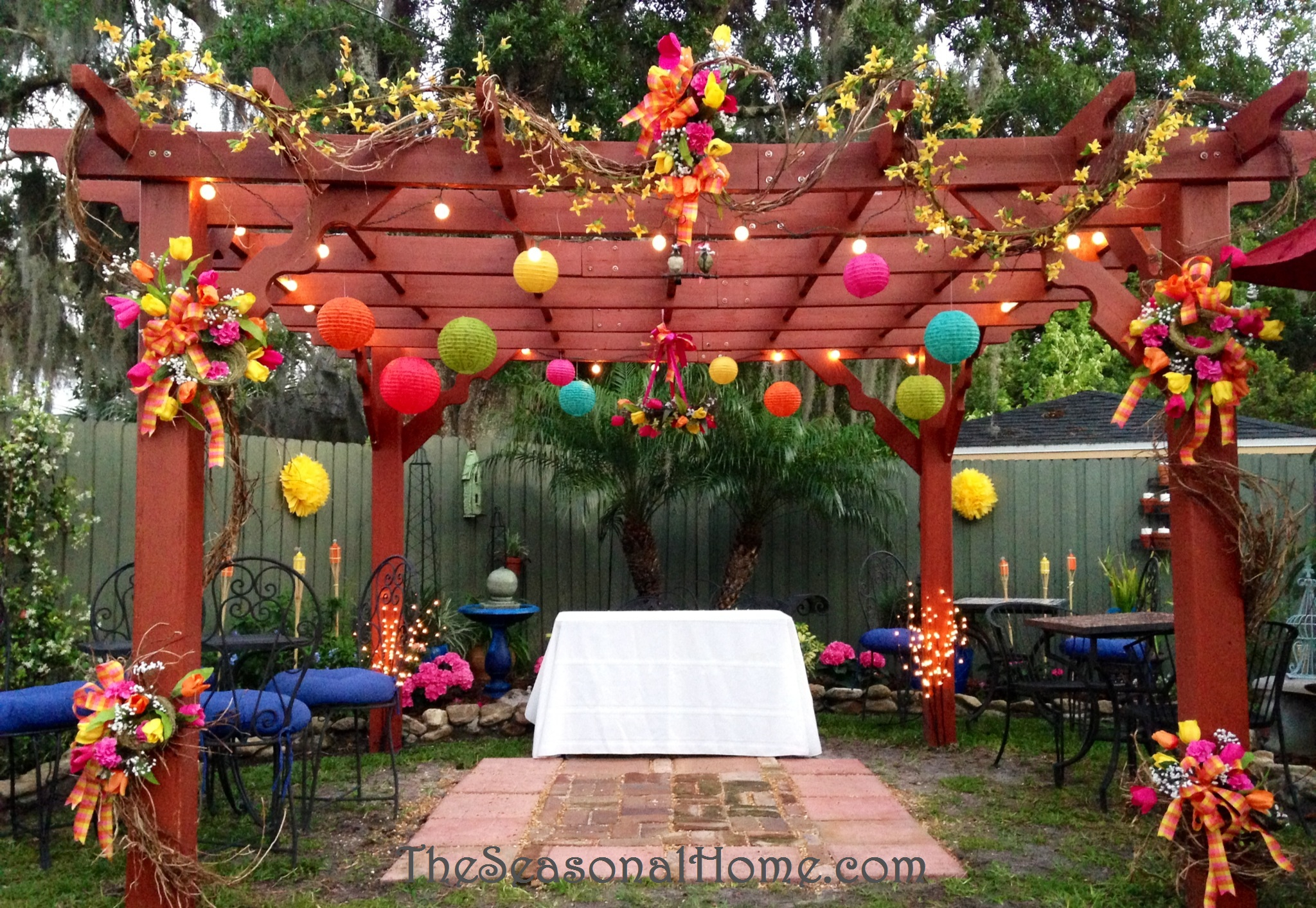 Ideas For A Budget Friendly Nostalgic Backyard Wedding Reception throughout 13 Some of the Coolest Ideas How to Craft Small Backyard Wedding Ideas On A Budget