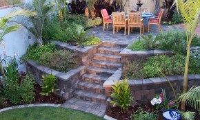 Landscaping A Slope Retaining Wall Backyard Slope Various Design for Backyard Slope Ideas