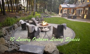 Luxury Outdoor Living Spaces Paradise Restored Landscaping in Luxury Backyard Landscaping