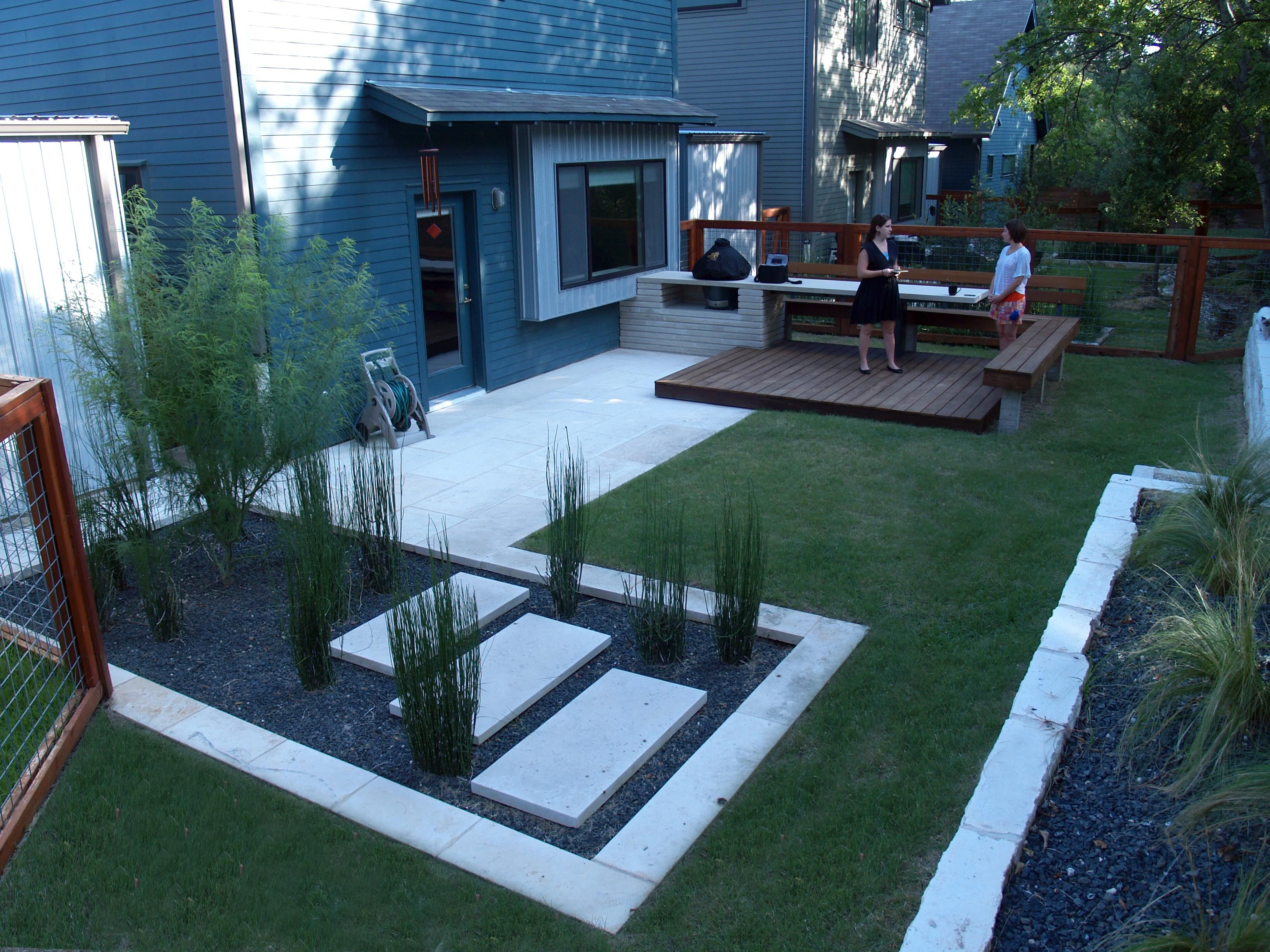 Modern Small Backyard Design With Kitchen Dining And Living Decor intended for 11 Awesome Tricks of How to Make House Backyard Ideas