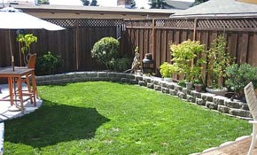 Outstanding Landscape Design For Small Backyards Sard Info inside Landscaping Ideas For A Small Backyard