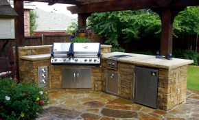 Patio Kitchen Small Outdoor Patio Golfsycamoregc in 13 Awesome Designs of How to Makeover Backyard Kitchen Design Ideas