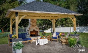 Pavilion Backyard Ideas For Your Outdoor Living Space pertaining to Backyard Idea