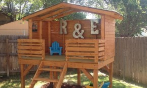 Play Fort In 2019 Playhouses Playrooms And Bedrooms Backyard intended for 10 Genius Concepts of How to Upgrade Backyard Fort Ideas
