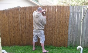 Privacy Fence Ideas For Backyard And Terrace Ducksdailyblog Fence with regard to 14 Clever Tricks of How to Makeover Cheap Fence Ideas For Backyard
