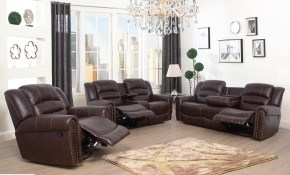 Red Barrel Studio Kora 3 Piece Reclining Living Room Set Wayfair for 3 Piece Reclining Living Room Set