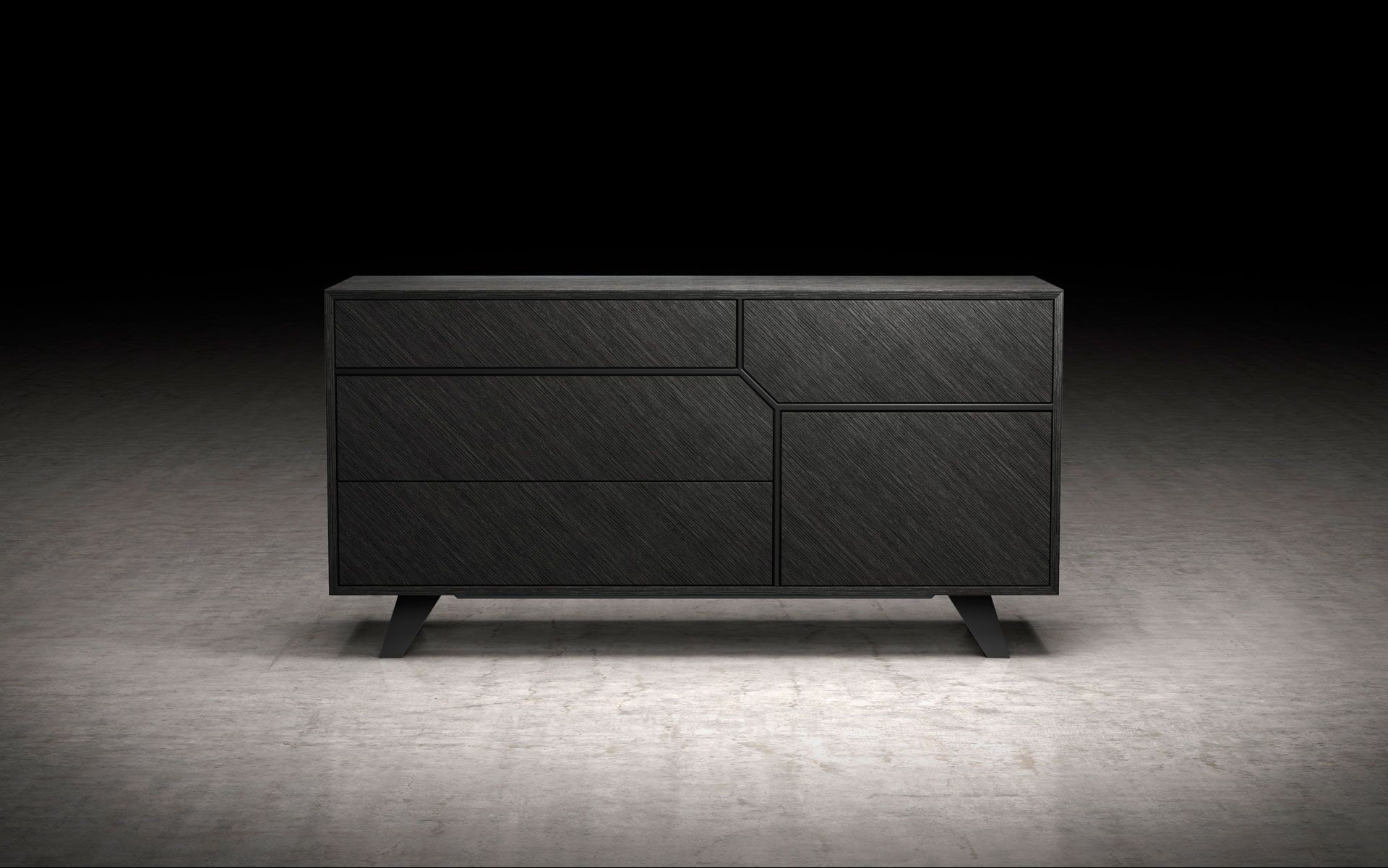 Ricco Gray Oak Modern Bedroom Dresser Contemporary Bedroom Dressers with Modern Bedroom Dresser