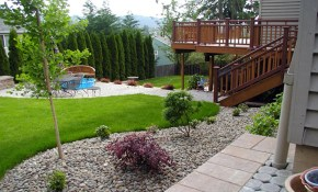 Simple Small Backyard Landscaping Ideas Youtube for Simple Backyard Landscaping