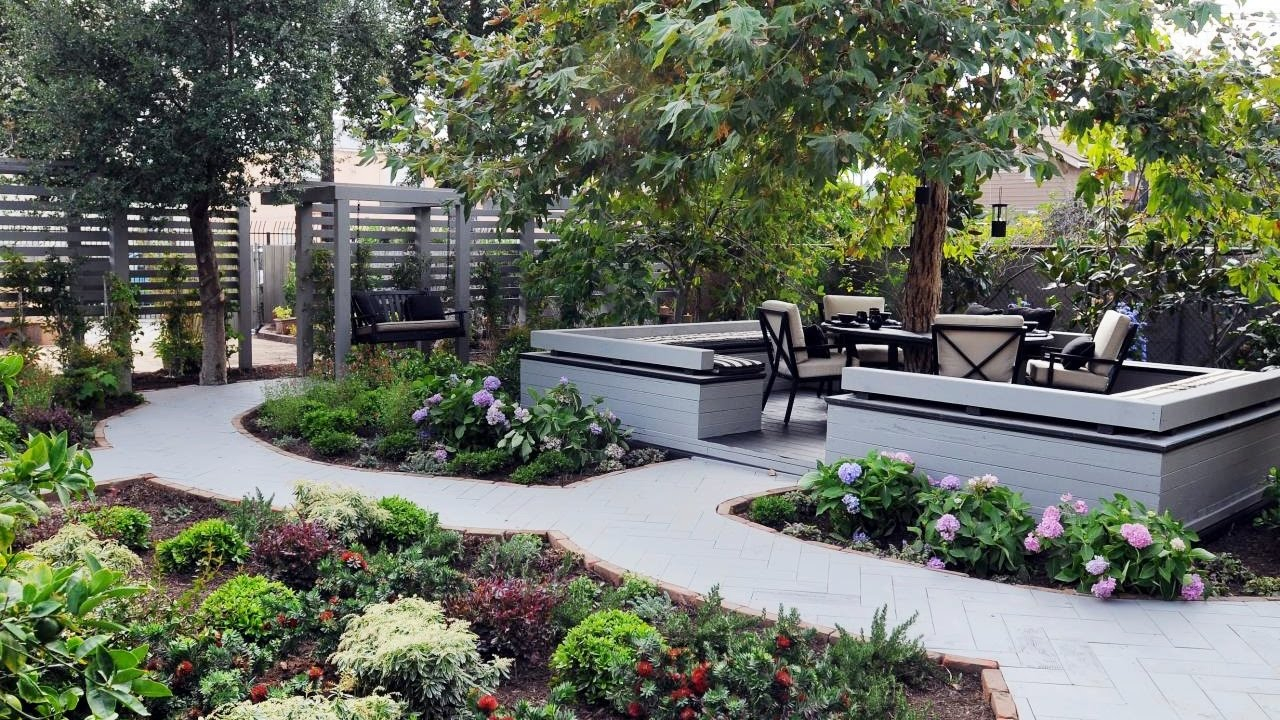 Small Backyard Landscaping Ideas Backyard Garden Ideas Youtube regarding Backyard Gardens Ideas
