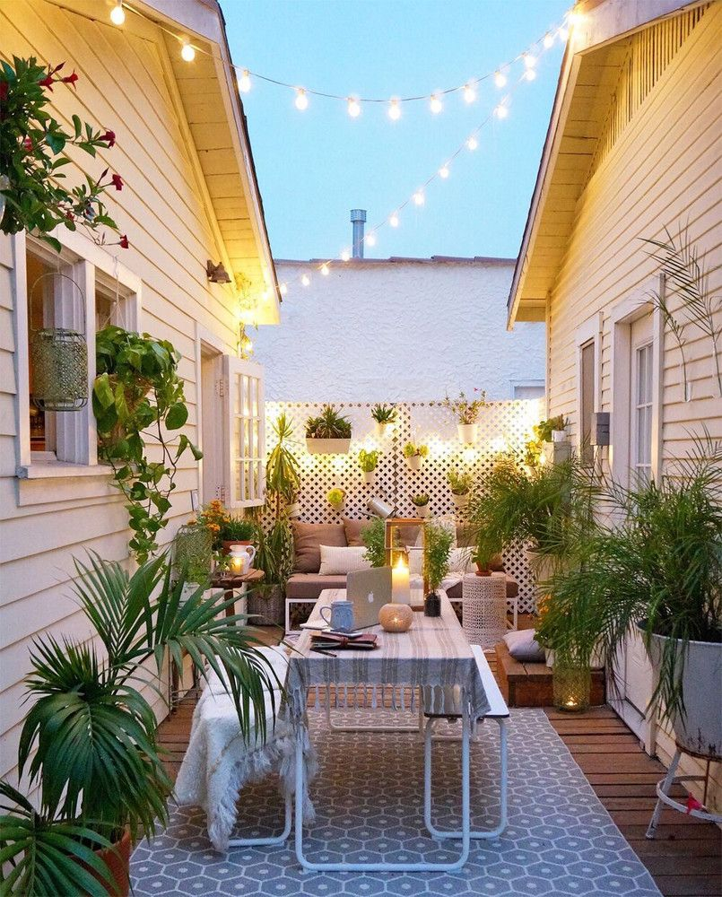 Small Garden Ideas For Tiny Outdoor Spaces Summer 2018 Home intended for 14 Smart Concepts of How to Makeover Ideas For Small Backyard Spaces