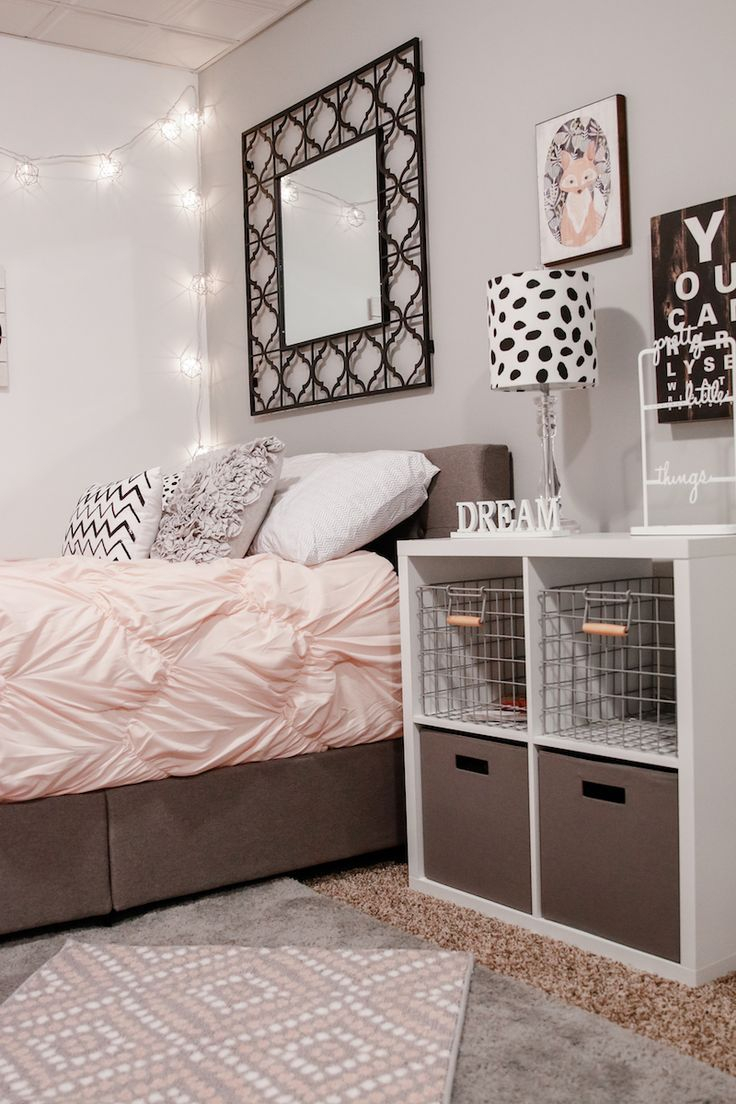 Teen Girl Bedroom Ideas And Decor Bedroom Teenage Girl Bedroom inside Modern Teen Bedroom