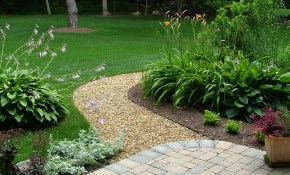 Tips For Mulch Gravel Use Mulch Supplier In Pa for Gravel Backyard Landscaping