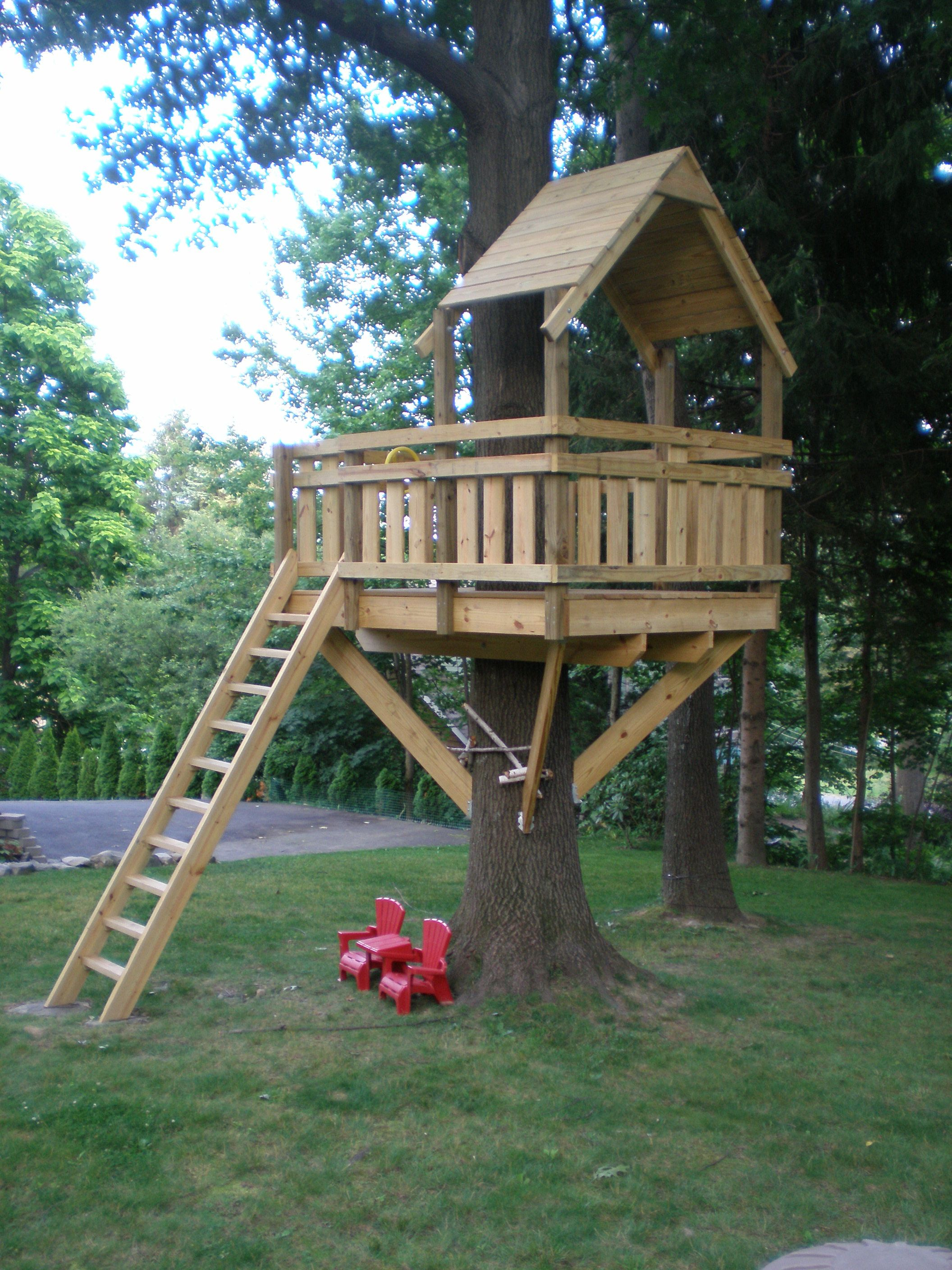 Tree Fort Ladder Gate Roof Finale Fort Plans Tree House for 10 Genius Concepts of How to Upgrade Backyard Fort Ideas