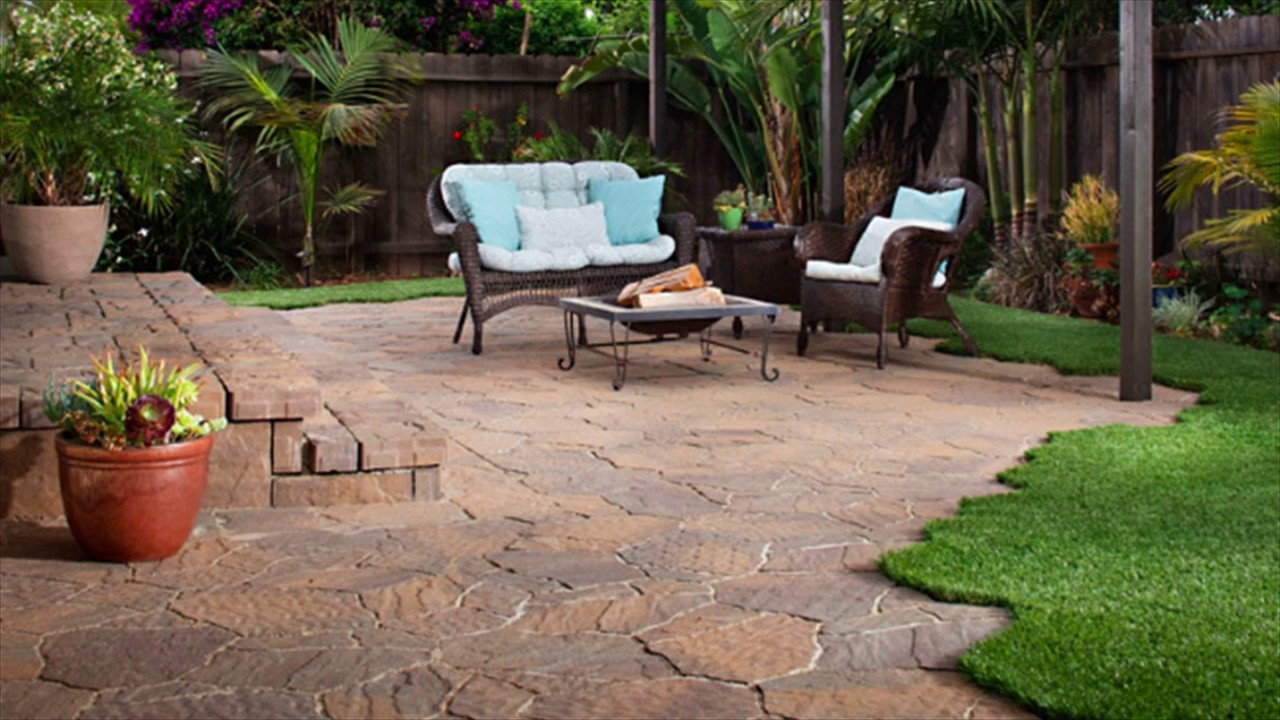 Using Hardscape Is Best Idea For Backyard Landscaping Youtube within 14 Genius Concepts of How to Upgrade Hardscaping Ideas For Backyards