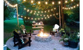 Welcome Warmer Weather With These Patio String Light Ideas Outdoor regarding Backyard String Lighting Ideas