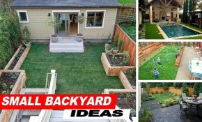 Wow Small Backyard Ideas With Grass Youtube regarding 11 Awesome Designs of How to Craft Backyard Ideas