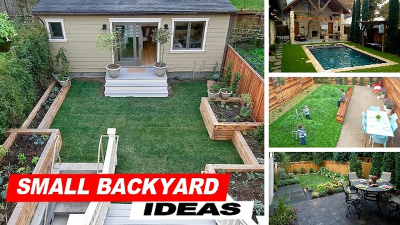 Wow Small Backyard Ideas With Grass Youtube within 11 Some of the Coolest Tricks of How to Upgrade Backyard Idea