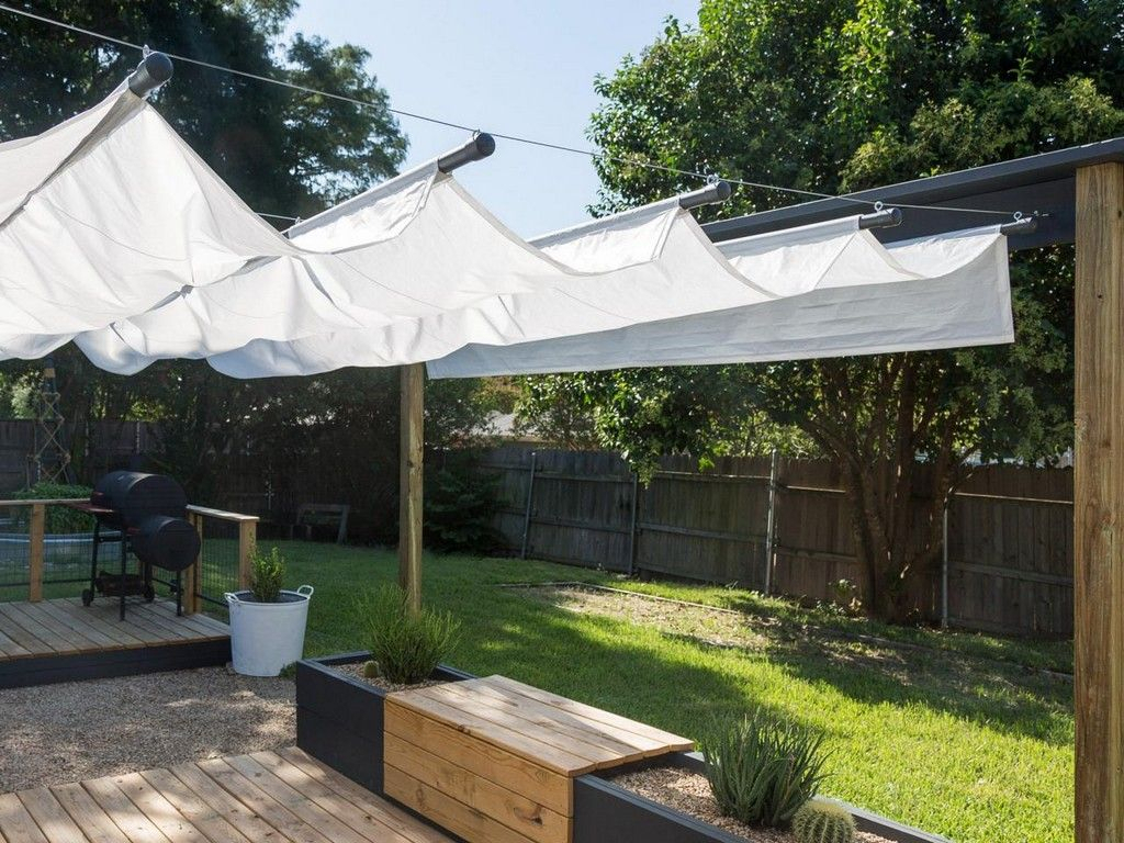 11 Awesome Backyard Patio Deck Shade Ideas Collection Backyard with 10 Clever Ideas How to Craft Backyard Shade Ideas