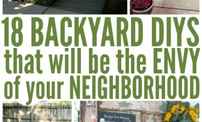 18 Backyard Diy Ideas That Are The Envy Of Your Neighborhood within Home Backyard Ideas