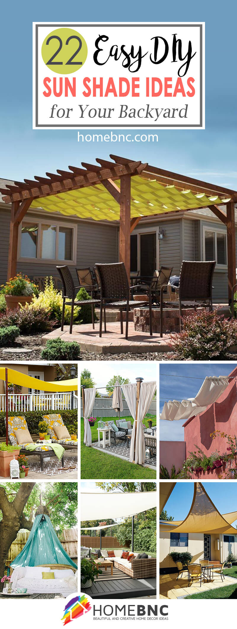 22 Best Diy Sun Shade Ideas And Designs For 2019 with regard to 12 Some of the Coolest Designs of How to Improve Shade Ideas For Backyard