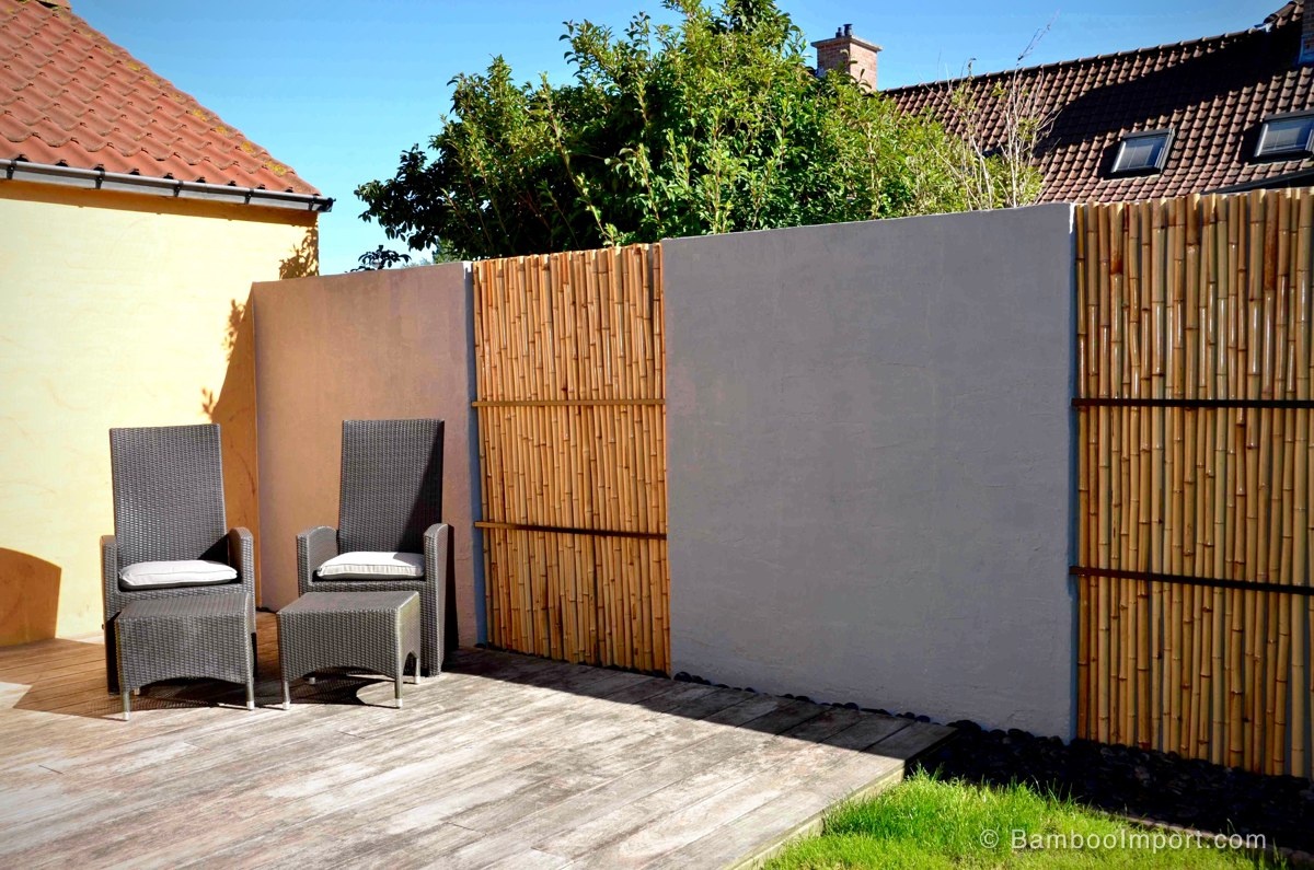 25 Bamboo Fencing Ideas For Garden Terrace Or Balcony for Types Of Wood Fences For Backyard