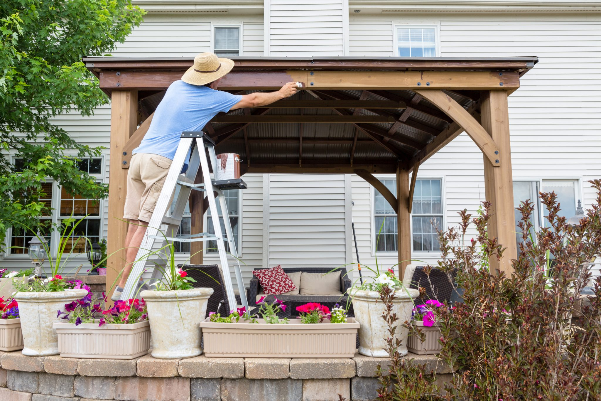 25 Patio Shade Ideas For Your Backyard Install It Direct throughout Shade Ideas For Backyard