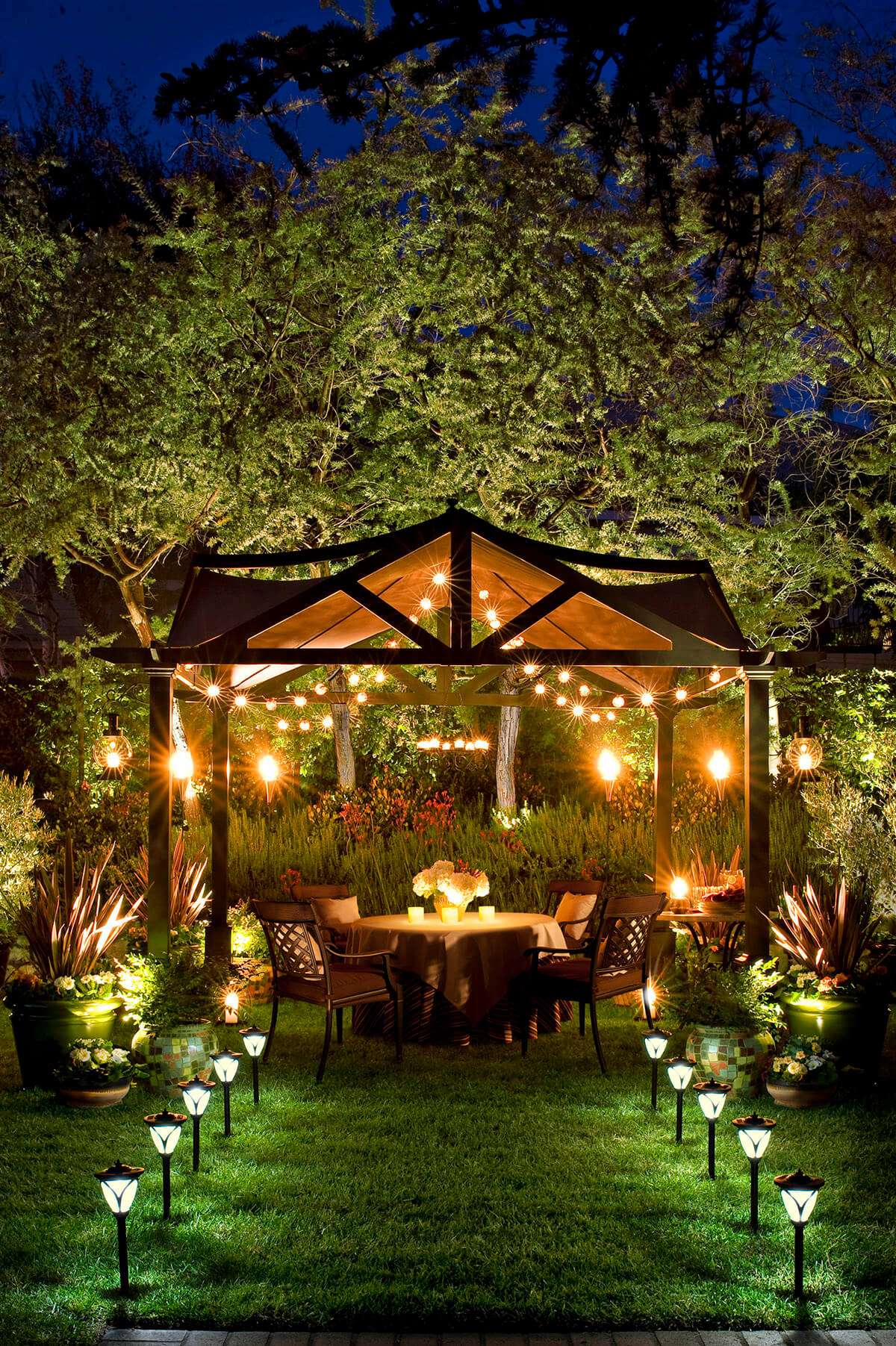 27 Best Backyard Lighting Ideas And Designs For 2019 regarding Backyard Decorations
