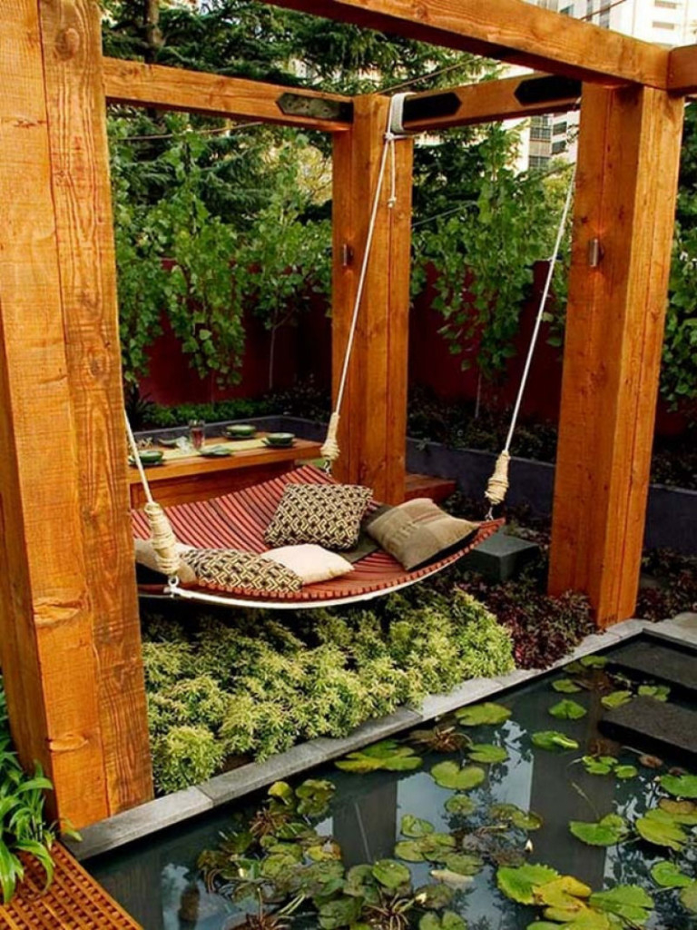 38 Lazy Day Backyard Hammock Ideas with regard to Backyard Hammock Ideas