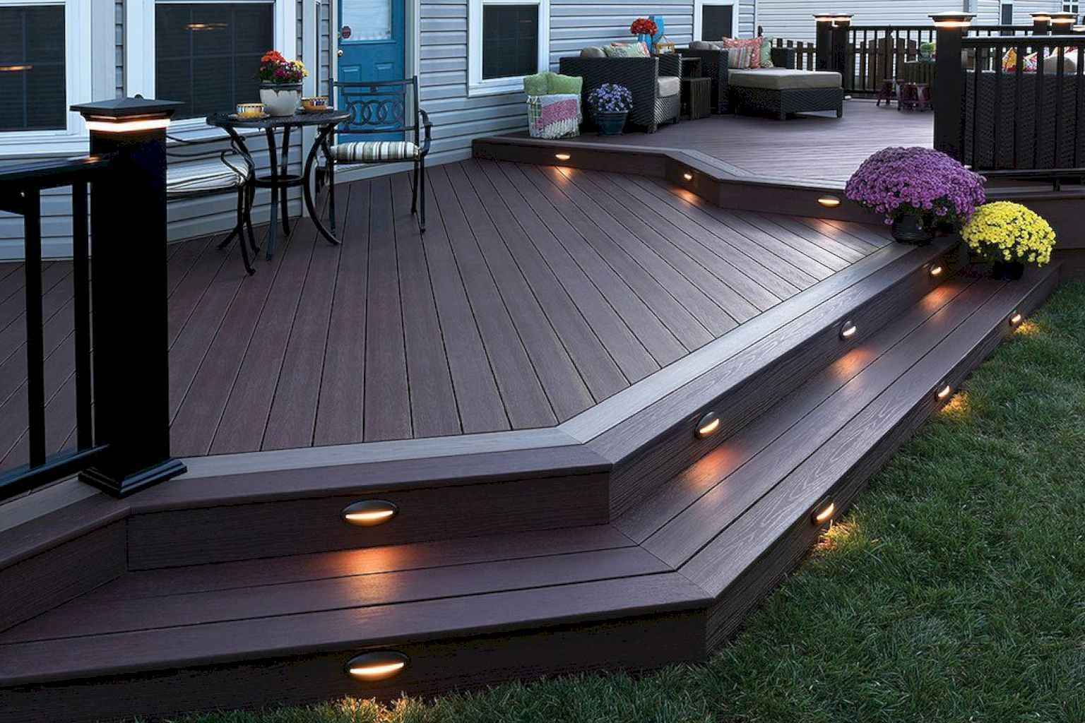 50 Awesome Backyard Patio Deck Ideas Decoreditor within Backyard Patio Deck Ideas