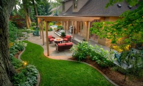 50 Backyard Landscaping Ideas To Inspire You with regard to Pictures Of Landscaped Backyards
