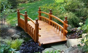 50 Stunning Small Backyard With Bridge Ideas Decor Renewal intended for Backyard Bridge Ideas